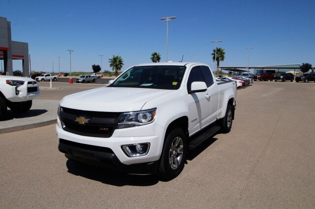 Pre-Owned 2018 Chevrolet Colorado 4WD Ext Cab 128.3 Z71