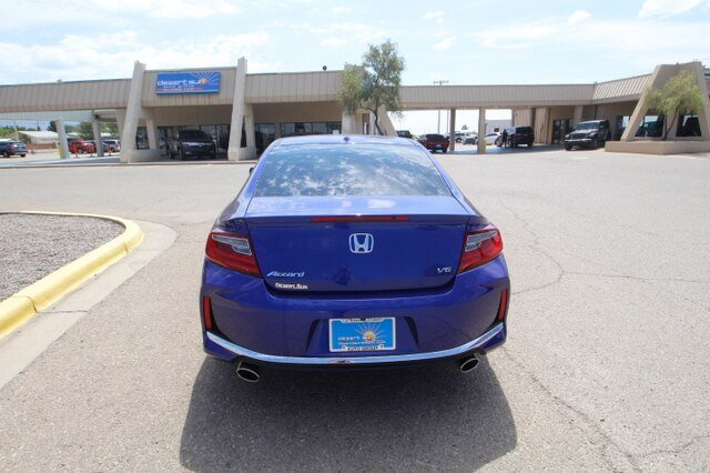 Pre-Owned 2017 Honda Accord Coupe EX-L V6