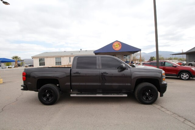 Pre Owned 2015 Chevrolet Silverado 1500 Ltz 4d Crew Cab In