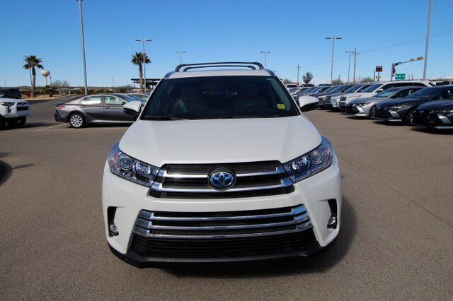 New 2019 Toyota Highlander Hybrid Limited V6