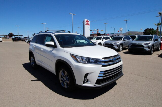 New 2019 Toyota Highlander Hybrid Limited Platinum V6