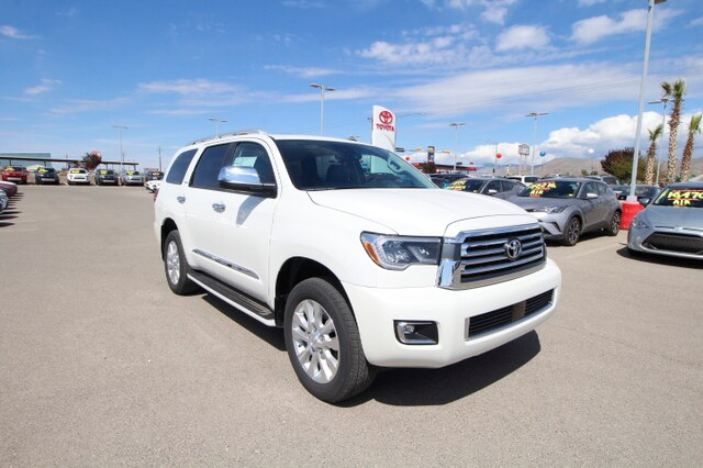 New 2019 Toyota Sequoia Platinum