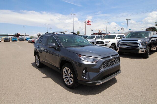 New 2019 Toyota RAV4 Limited AWD