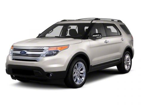 Pre-Owned 2013 Ford Explorer FWD 4dr Base